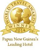 Winner of the 2014 World Travel Award for Papua New Guinea's Leading Hotel